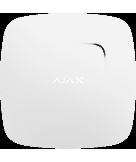 Ajax FireProtect Plus dūmų , temperatūros ir CO detektorius (baltas)