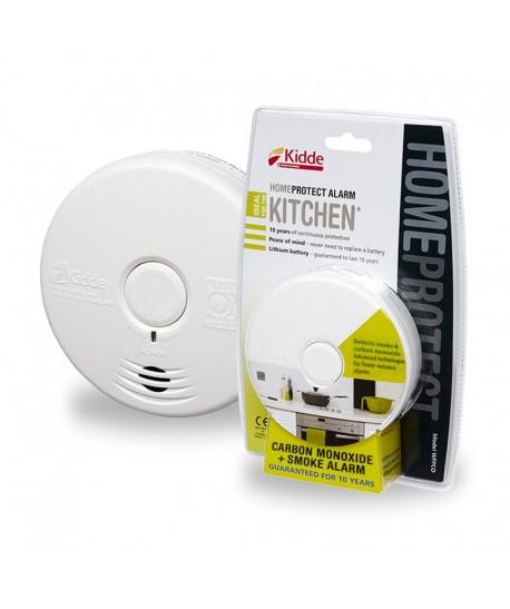Anglies monoksido ir dūmų detektorius KIDDE WFPCO HomeProtect