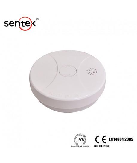 Autonominis dūmų detektorius su 18 mėn. baterija Sentek SK-50